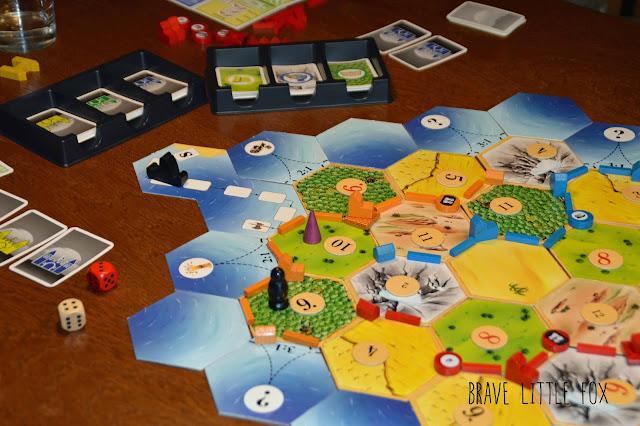Brettspiel Die Siedler von Catan