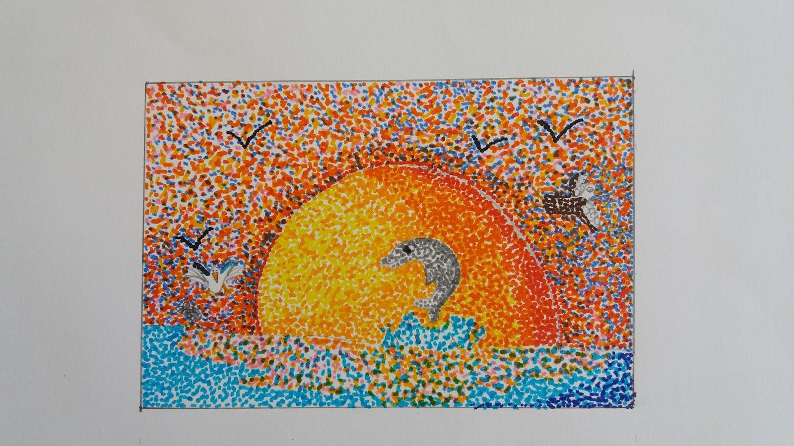 Due ore di arte ottobre 2015 for Disegni paesaggi semplici