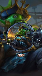 Bane Deep Sea Monster Heroes Fighter of Skins V2