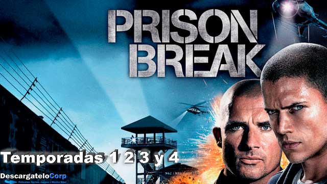 Prison Break Temporadas 1-2-3 y 4 HD 720p Español Latino