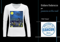 "Tshirt ""Cancun"" by Giuliano Badaracco"