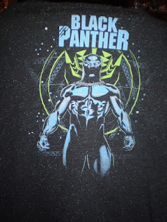 Black Panther Starry T-shirt