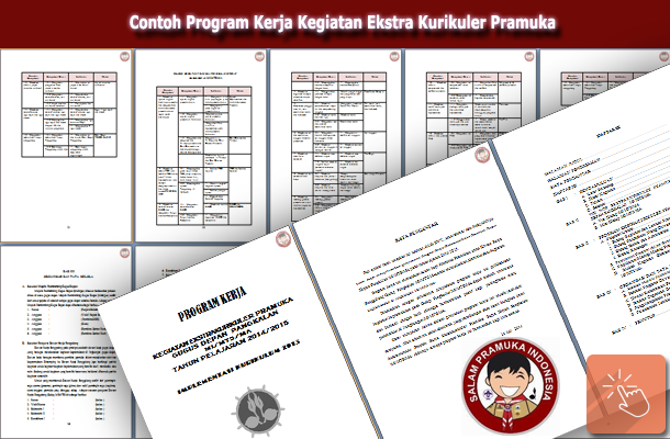 Contoh Program Kerja Kegiatan Ekstra Kurikuler Pramuka