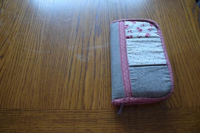 Sabine benoît, la couture autrement 2, bullet journal, housse, protège carnet, au fils du temps