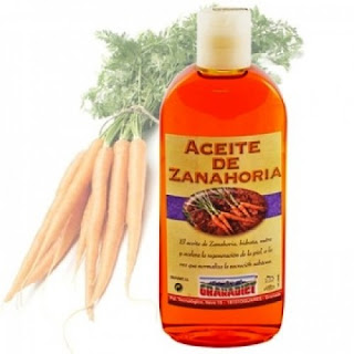 Morotsolja.Aceite (olja) och zanahoria (morot) är två ord med arabiskt ursprung som mot all förmodan bättre vetande kombinerats.