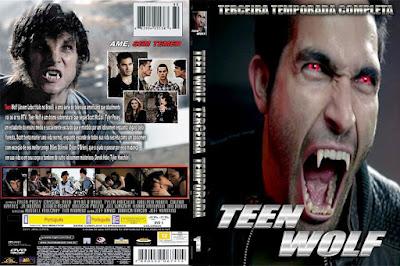 Série Teen Wolf 3º Temporada DVD Capa