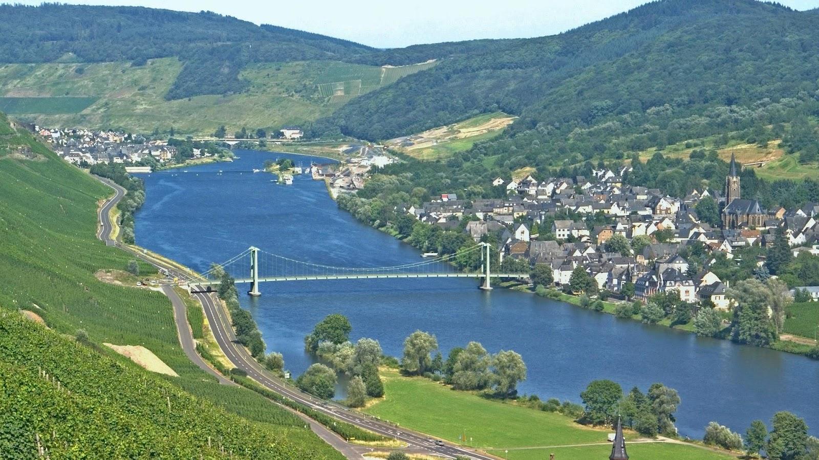 Wallpaper proslut beautiful nature wallpapers hd river - Bridge wallpaper hd ...