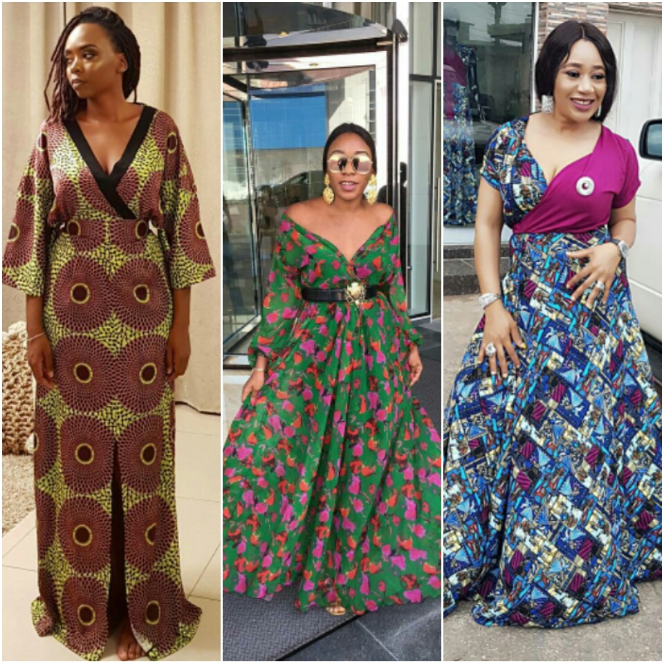 current fashion  maxi ankara dress styles -  Od9ja Styles  - CURRENT  FASHION  6cf1e8799
