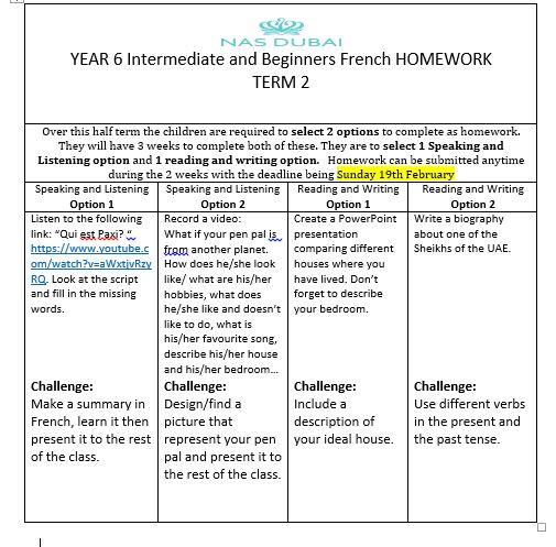 Homework help year 6