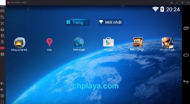 Download KOPlayer - Phần mềm giả lập Android KoPlayer trên PCa