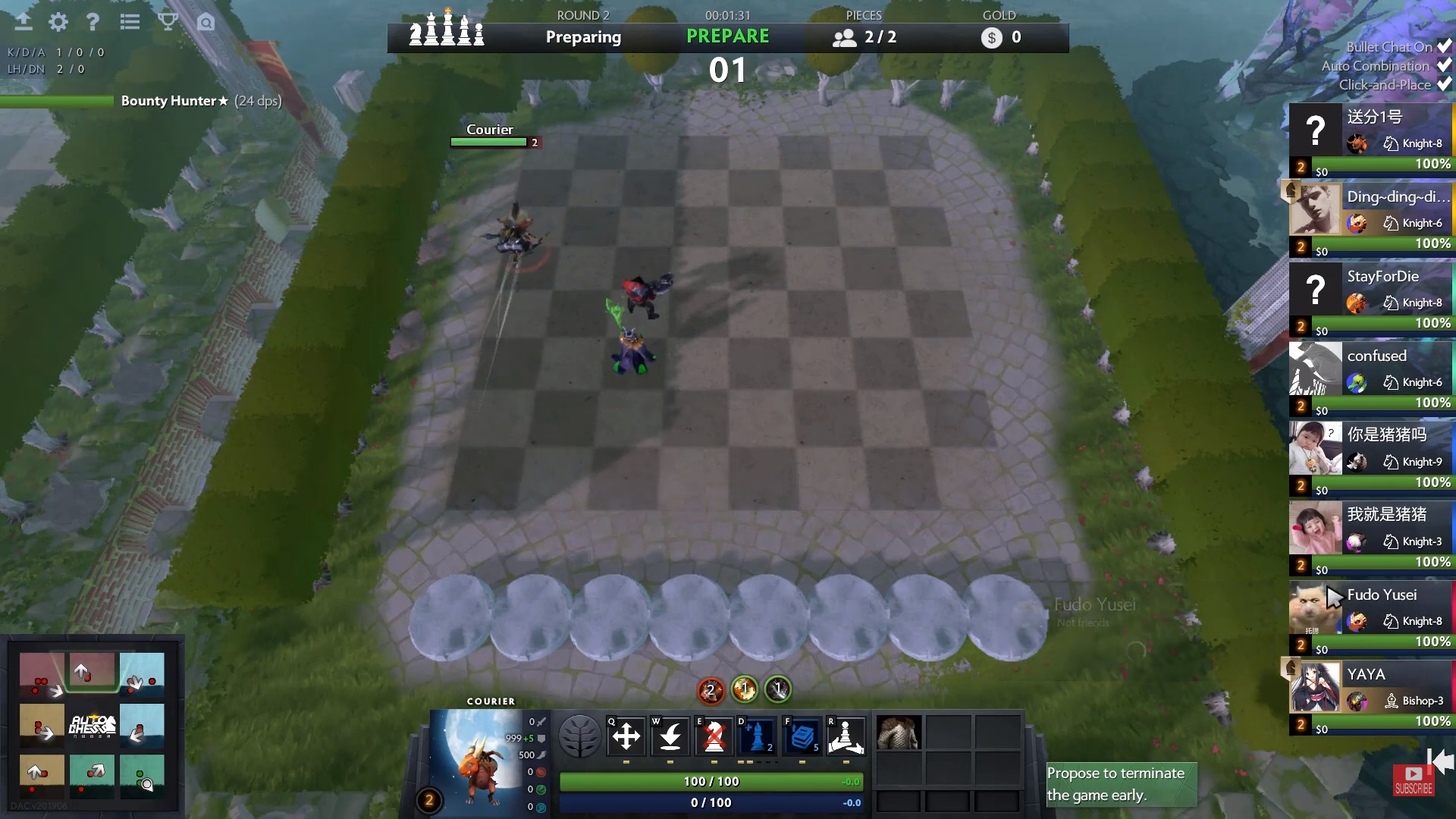 f5 - [Dota Auto Chess] Cập nhật ngày 13/7: Item mới cùng với chế độ mới được ra mắt!