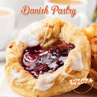 Cách làm bánh ngàn lớp Danish Pastry trái cây 2