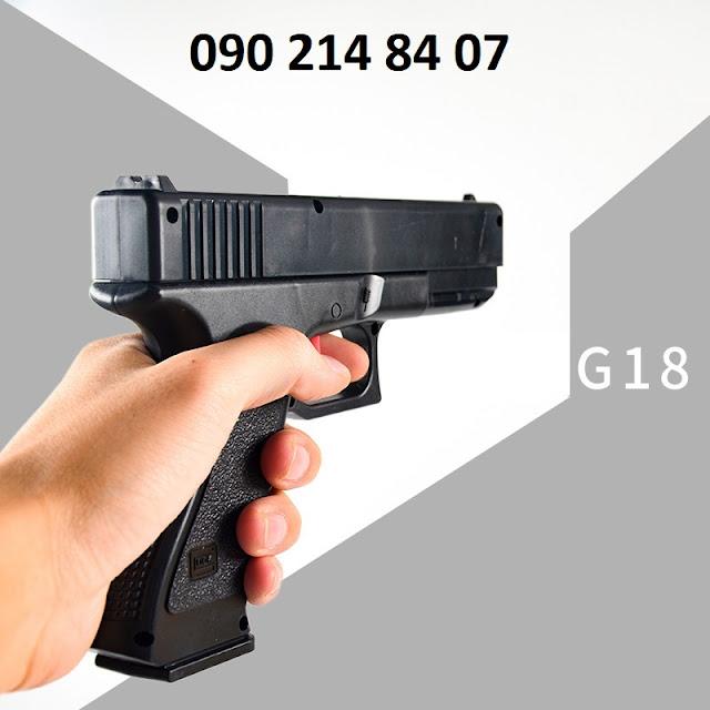 Súng lục đạn thạch G18 lên đạn bắn từng viên_2