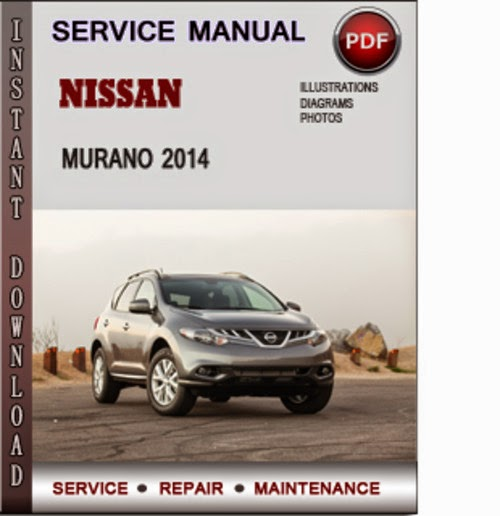 nissan murano service manual