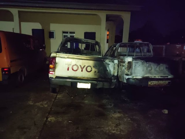 Attempt To Set INEC Office In Enugu Ablaze Foiled By Police