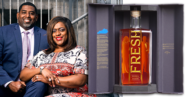 Sean and Tia Edwards, founders of Fresh Bourbon Distilling Co.