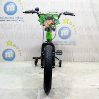 16 pacific ben 10 lisensi bmx sepeda anak