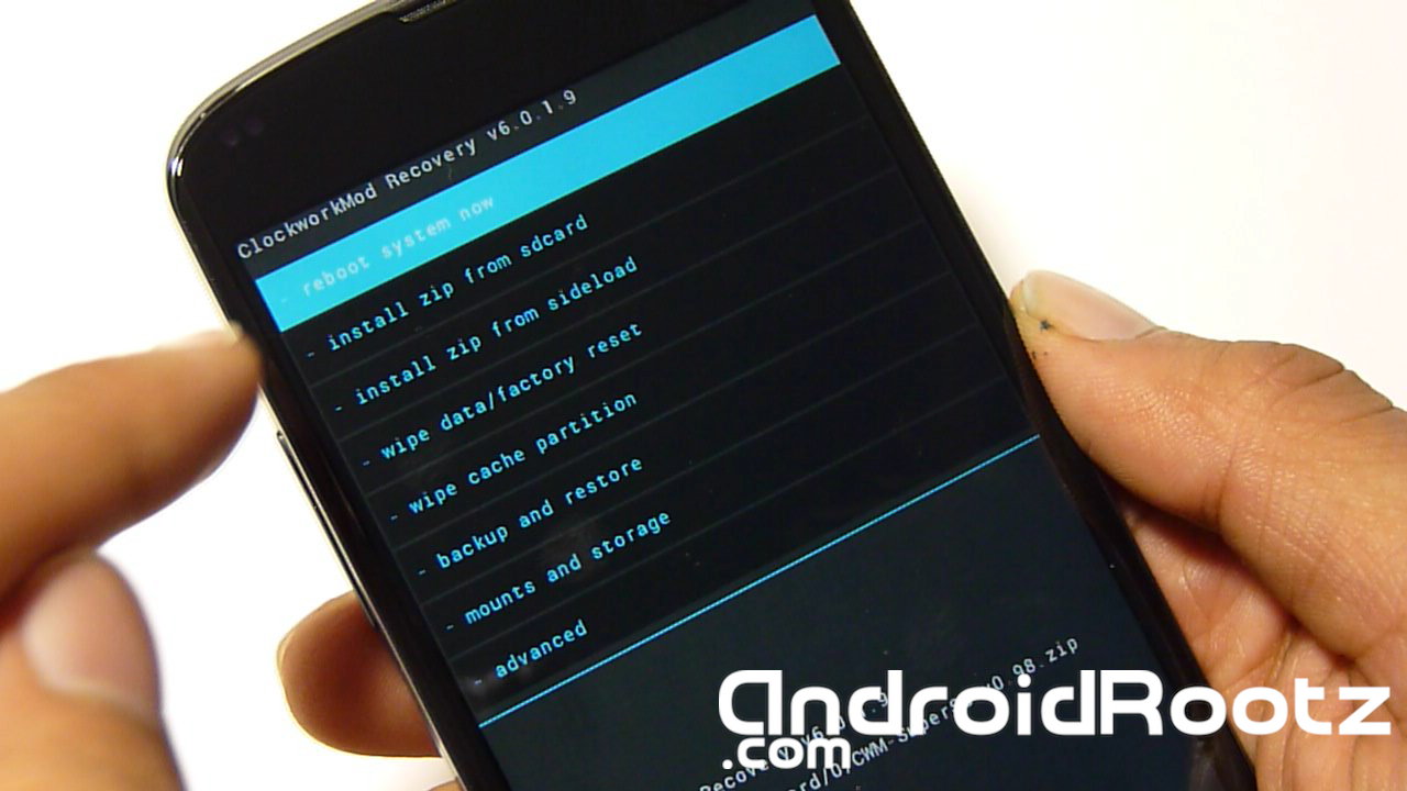 How to Root Nexus 4 on Windows! ~ AndroidRootz com   Source