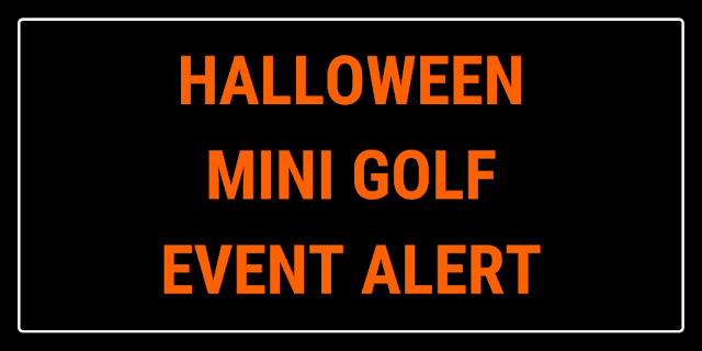 The team at Fun Fore All Family Fun Park in Cranberry Township, Pennsylvania, USA are getting ready to tee-off Trick or Treat Mini Golf and Glow Golf at the 18-hole miniature golf course there