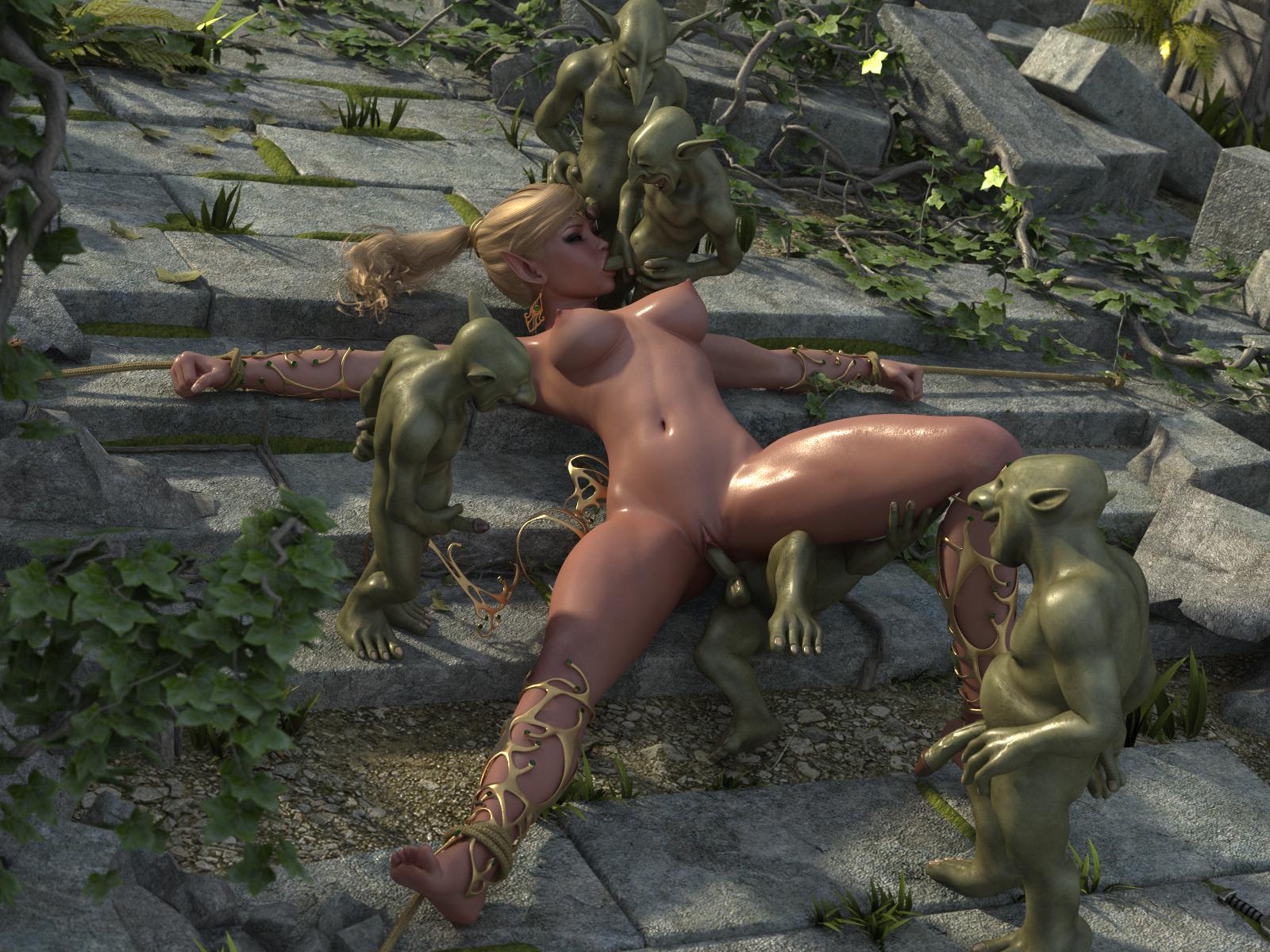 Мультфильм порно в лесу монстры