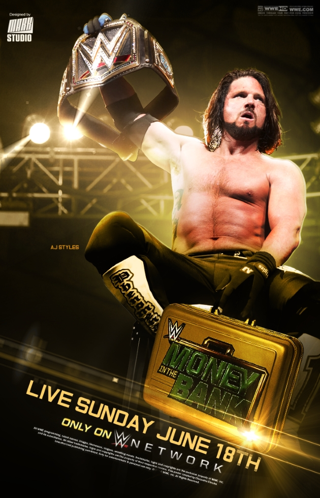 AJ Styles à l'Affiche de Money In The Bank