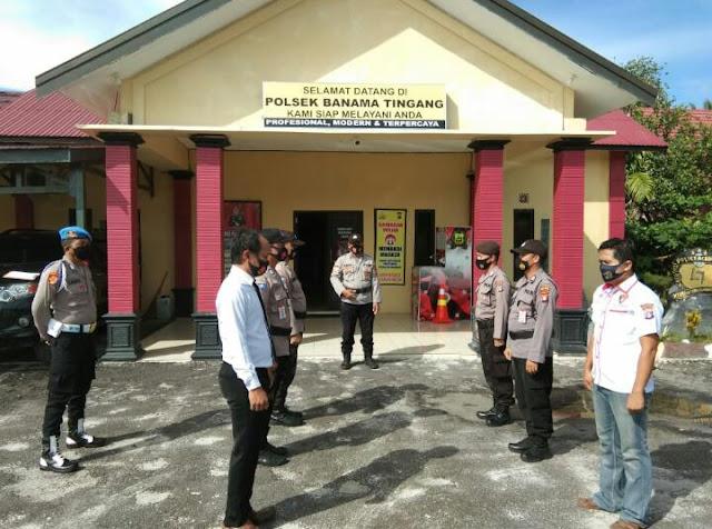 Polsek Banama Tingang Siap 1 x 24 Jam Untuk Berikan Pelayanan Kepada Masyarakat