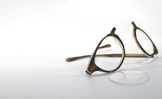 broken reading glasses