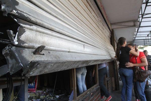 10 locales completamente saqueado sen La Limpia de Maracaibo