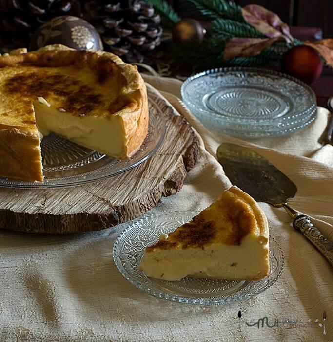 elaboración tarta de queso internacional