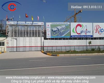 Công ty Việt Phan đang trong quá trình thi công xây dựng cho công trình tại KCN VSIP - Hải Phòng.