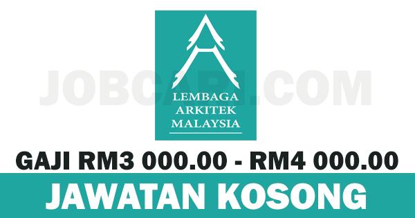 JAWATAN KOSONG LEMBAGA ARKITEK MALAYSIA