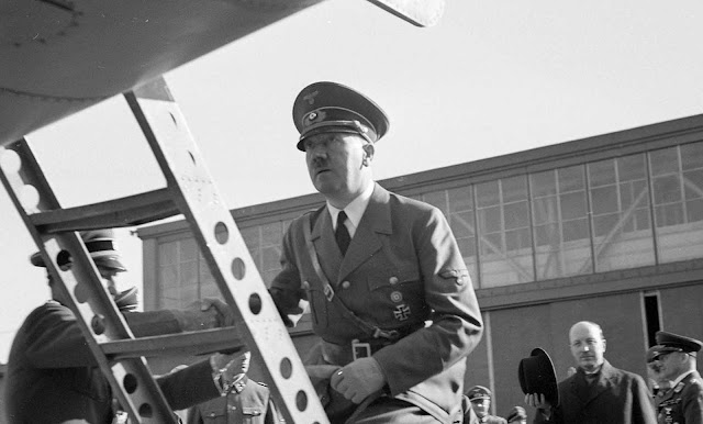 Hitler's visit to Finland. Adolf Hitler, leader of Nazi Germany, made a brief visit to Finland in June of 1942.