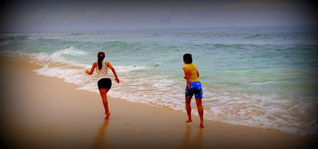 Ombak ganas Di Pantai Balangan