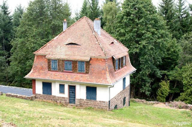 La Villa del Comandante Kramer del Campo di Concentramento di Natzweiler-Struthof