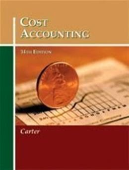 cost accounting carter solution manual