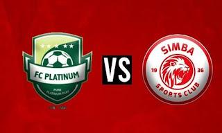 Simba SC VS FC Platinum FC (LIVE) - 6/1/2021