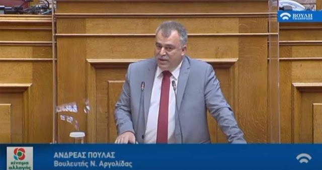 Α. Πουλάς: Ανενεργές οι ΜΕΘ που δώρισε η Επιτροπή «Ελλάδα 2021» στο ΕΣΥ
