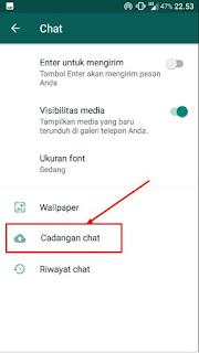 cara mengembalikan chat wa yang terhapus lama