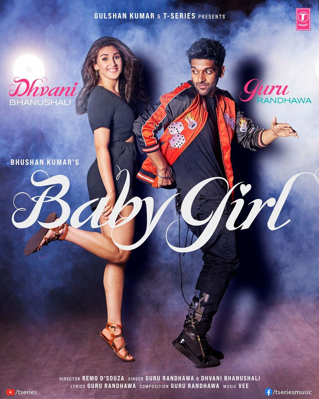 "Guru Randhawa and Dhvani bhanushali  new Song ""babygirl"""