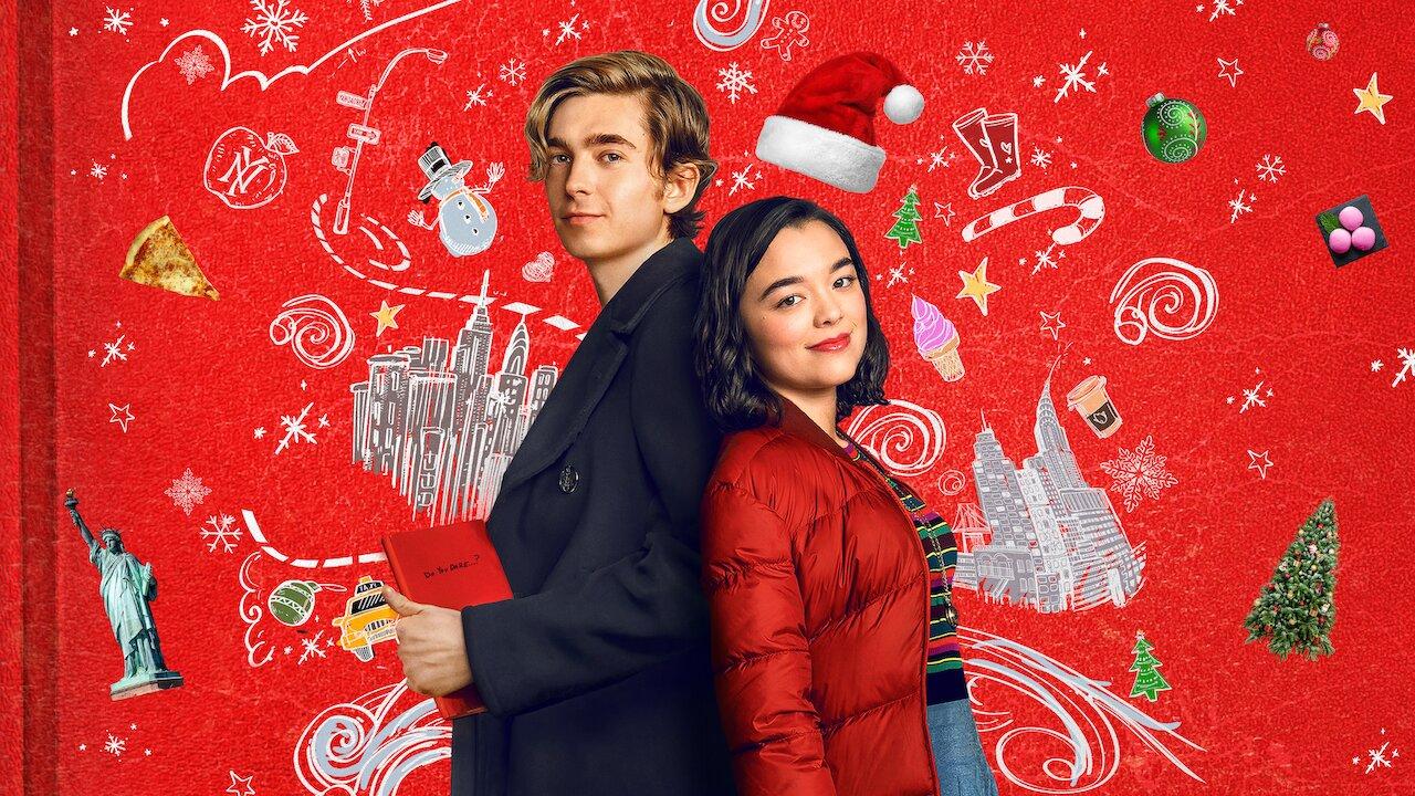 Dash y Lily en el poster oficial de Netflix