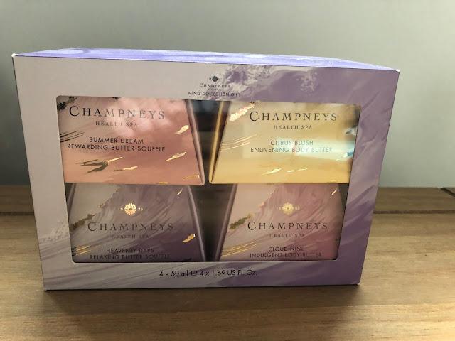 Champneys body butter gift set