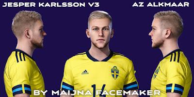 PES 2021 Tattoo Jesper Karlsson by Maijna