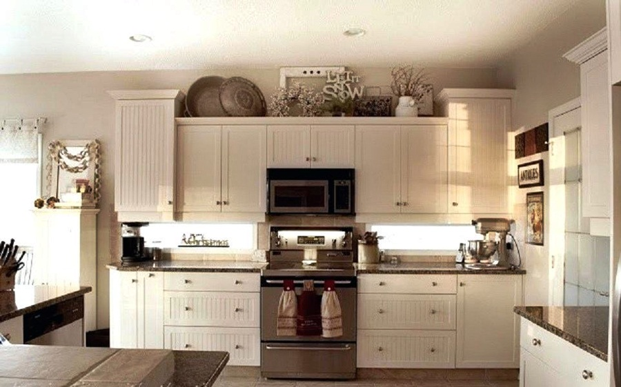 5 Images How To Decorate Above Kitchen Cabinets Dream House