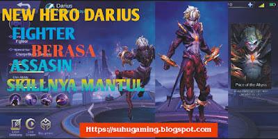 Hero Fighter Terbaru Mobile Legends Dairus Sangat OP Sekali