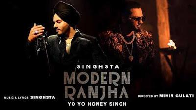Modern Ranjhaa Song Lyrics Singhsta