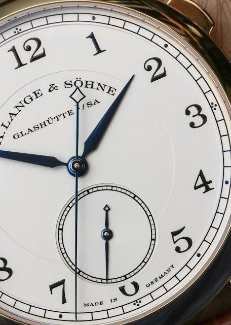 SIHH 2018 Réplique Montre A. Lange & Söhne 1815 «Hommage à Walter Lange» Or 18 Carats 40.5mm Édition Limitée