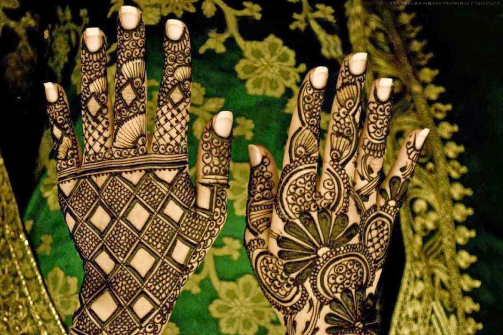 Beautiful Wallpapers: Beautiful Mehndi Design Wallpapers