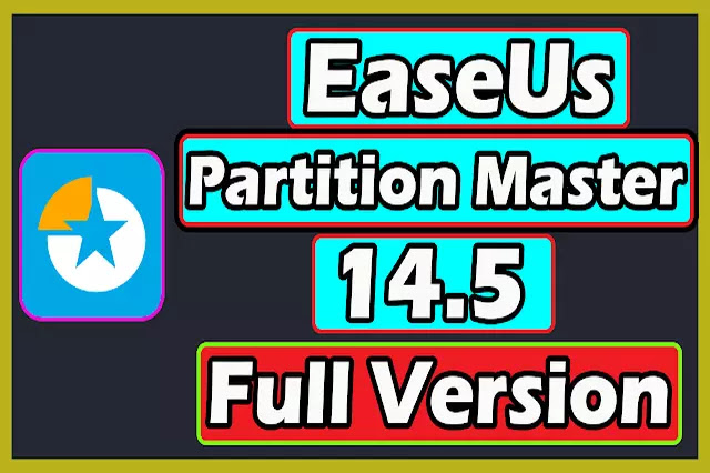 EaseUs Partition Master 14.5