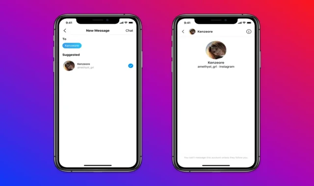 Instagram limits messages between teens and adults