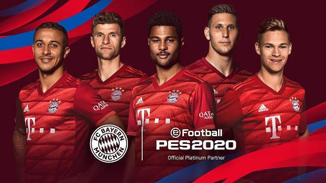PES 2020 Bayern Munich Start Screen For PES 2017